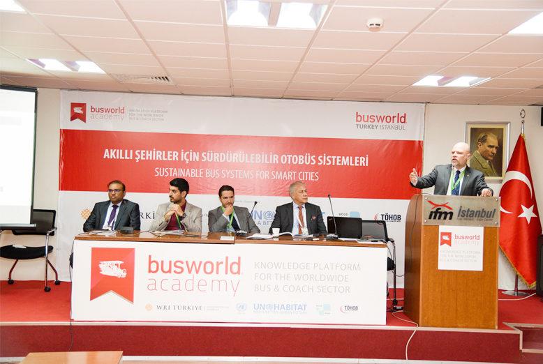 Busworld Turkey pone cero emisiones en la agenda, la octava edición de Busworld Turquía, organizada por Busworld International y su socio turco, HKF Trade Fairs