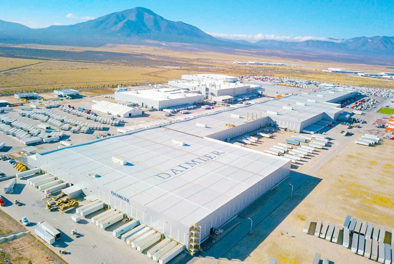Daimler Trucks México hará un ajuste en la producción de sus plantas