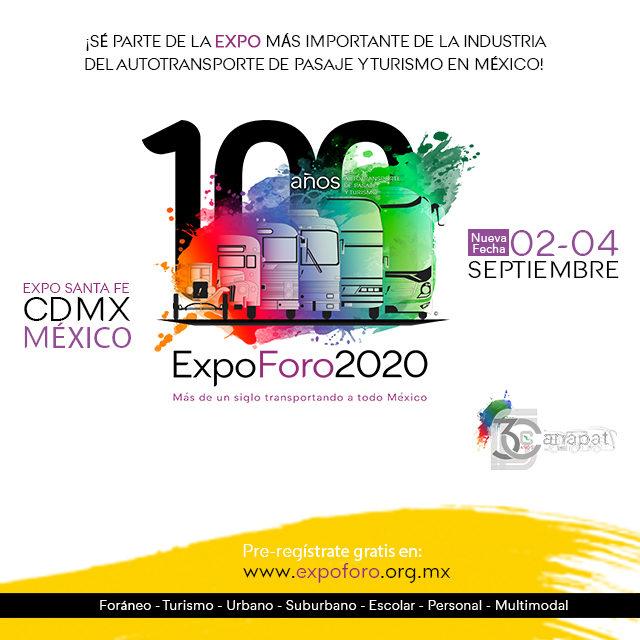 Expo Foro - Nuevas fechas