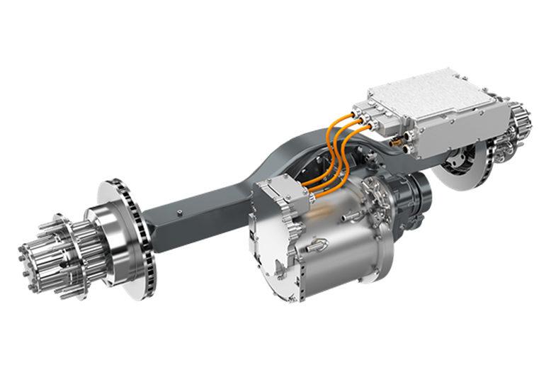 Dana lanza la producción del eje electrónico Spicer Electrified™ eS9000r e-AXLE para vehículos comerciales de clase 4 y 5