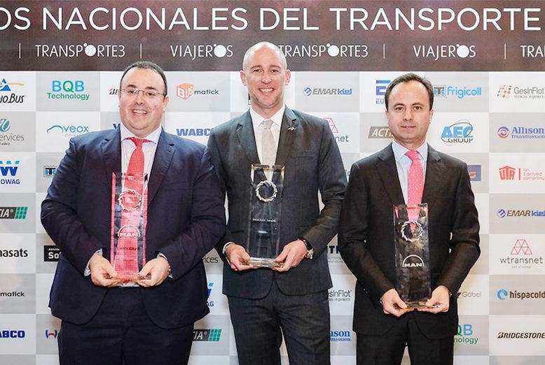 MAN sobresale en los Premios Nacionales de Transporte 2020