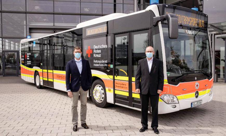 Daimler Buses y la Cruz Roja convierten al Citaro en ambulancia para transportar pacientes con COVID-19