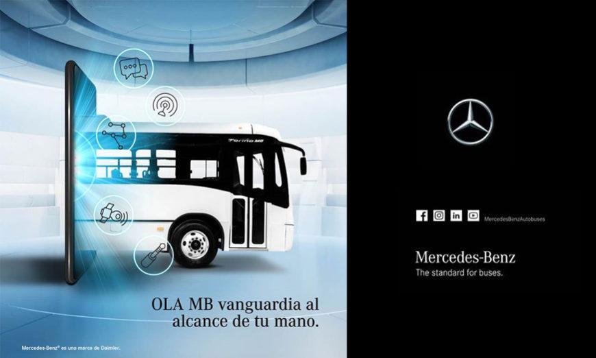 Mercedes-Benz Autobuses optimiza atención a clientes vía remota