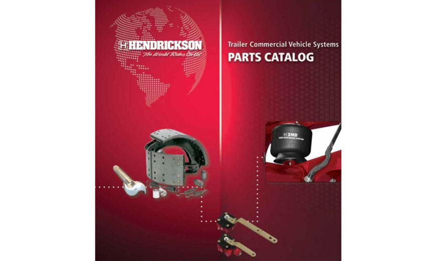 Hendrickson lanza nuevo catálogo de piezas de remolque digital