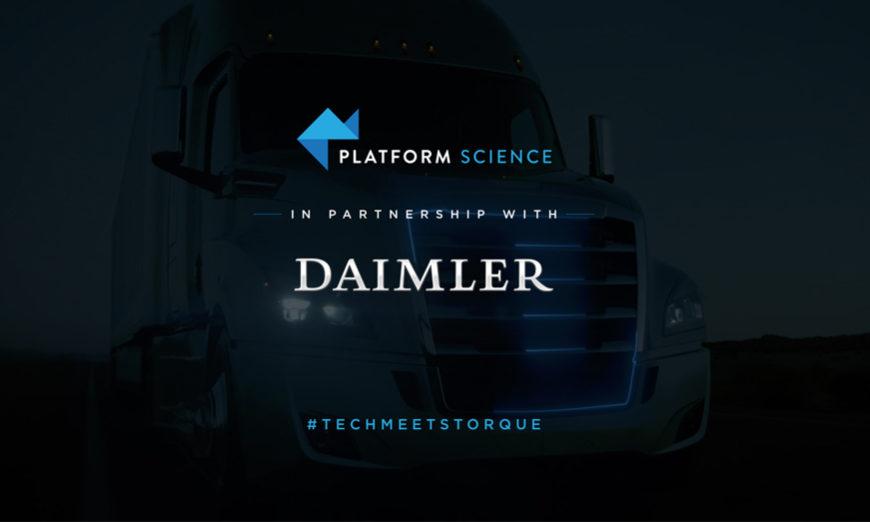 Daimler Trucks North América se asocia con Platform Science para ofrecer soluciones avanzadas en gestión de flotas
