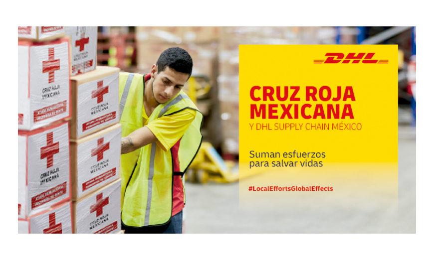 DHL Supply Chain y Cruz Roja Mexicana, unen esfuerzos para distribuir material de protección