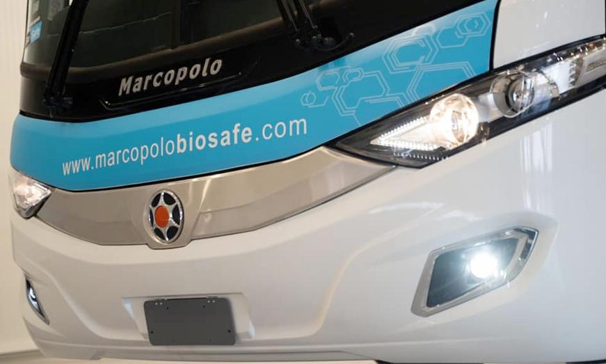 Marcopolo BIOSAFE, plataforma de soluciones para el regreso seguro del transporte de pasajeros