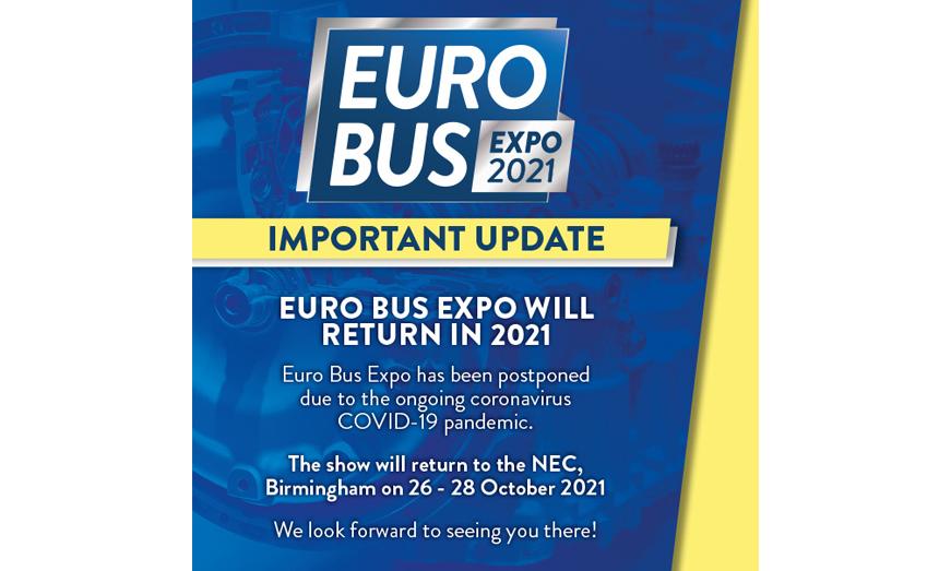 Euro Bus Expo aplazado para 2021