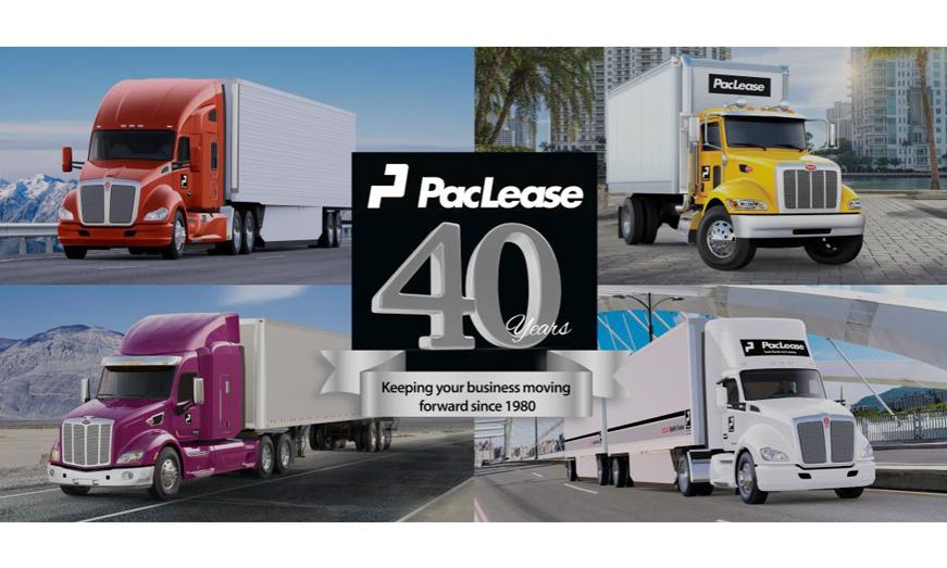 PacLease celebra 40 años de ser la financiera de PACCAR