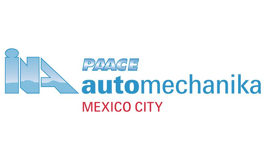 INA PAACE Automechanika Mexico City 2021, del 21 al 23 de julio
