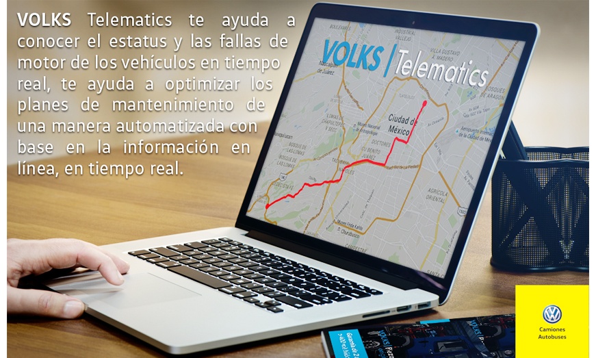 MAN Truck & Bus México lanza MAN Service Telematics y VOLKS Telematics