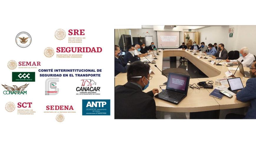 Entra en funcionamiento el Comité Interinstitucional de Seguridad en el Transporte