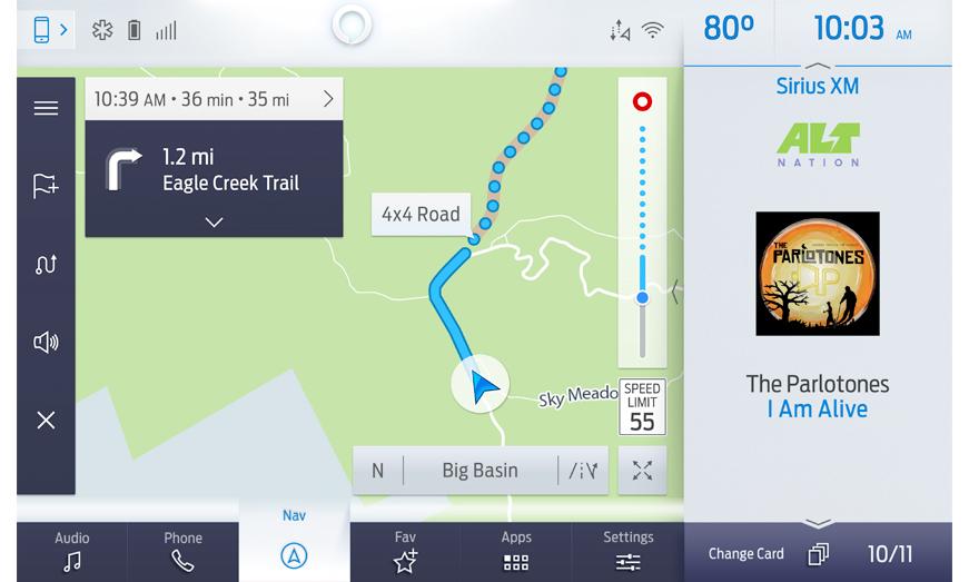 Más allá de los caminos convencionales: Ford y Telenav se unen para ofrecer navegación off-road