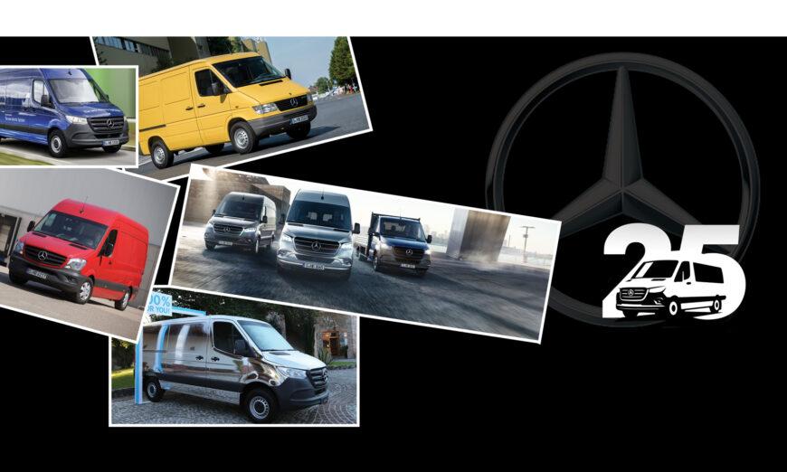 Sprinter de Mercedes-Benz celebra su cumpleaños 25