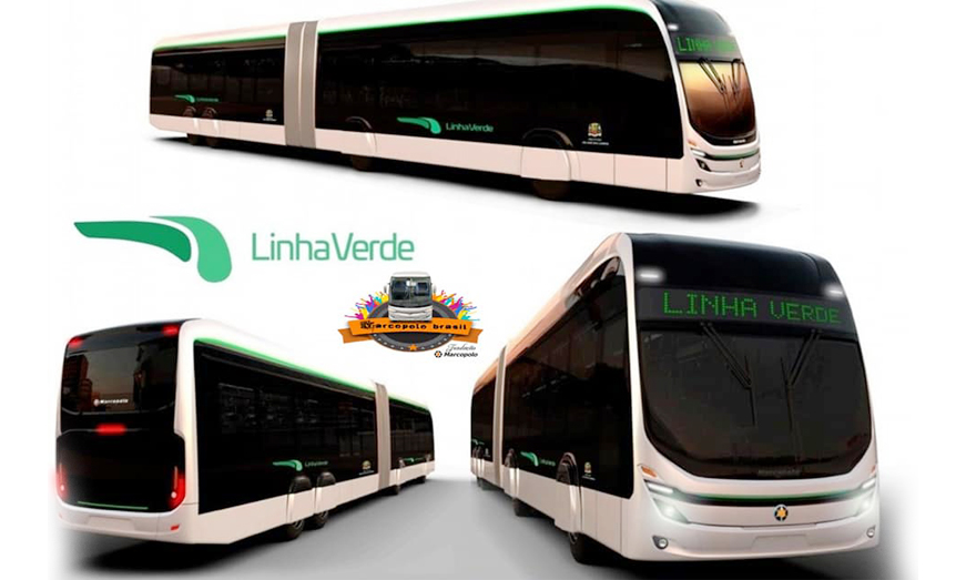 Marcopolo presentará el Nuevo Autobuses de 22 metros 100% elétricos fabricados por BYD