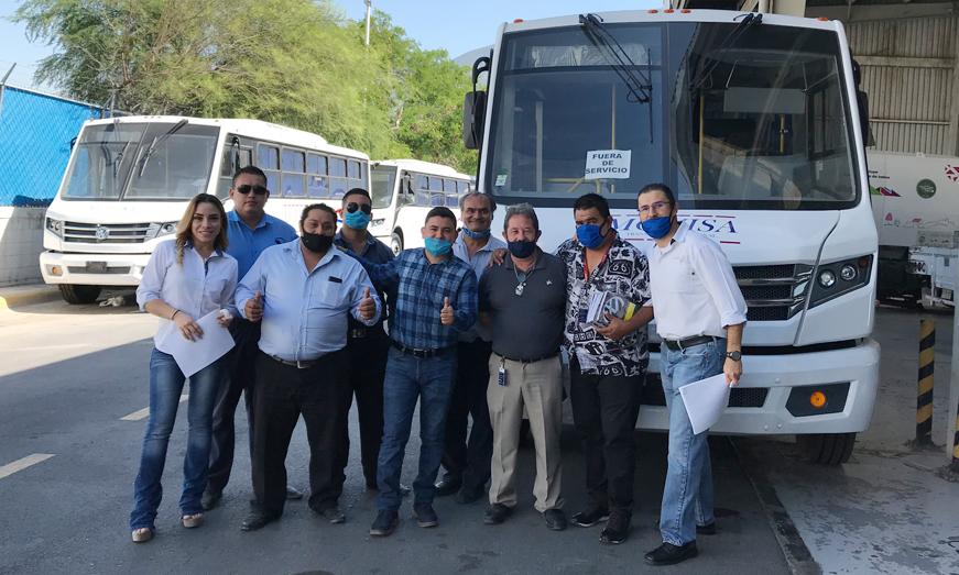 MAN Center Monterrey entrega los primeros huracanes a Movisa