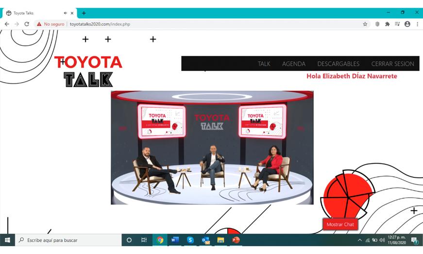 Toyota de México reajusta su objetivo anual debido al contexto que estamos viviendo con la pandemia