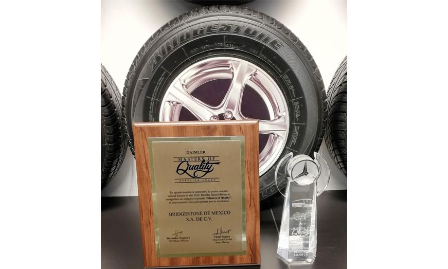 Bridgestone es reconocido por cuarto año como uno de los mejores proveedores de Daimler Buses México