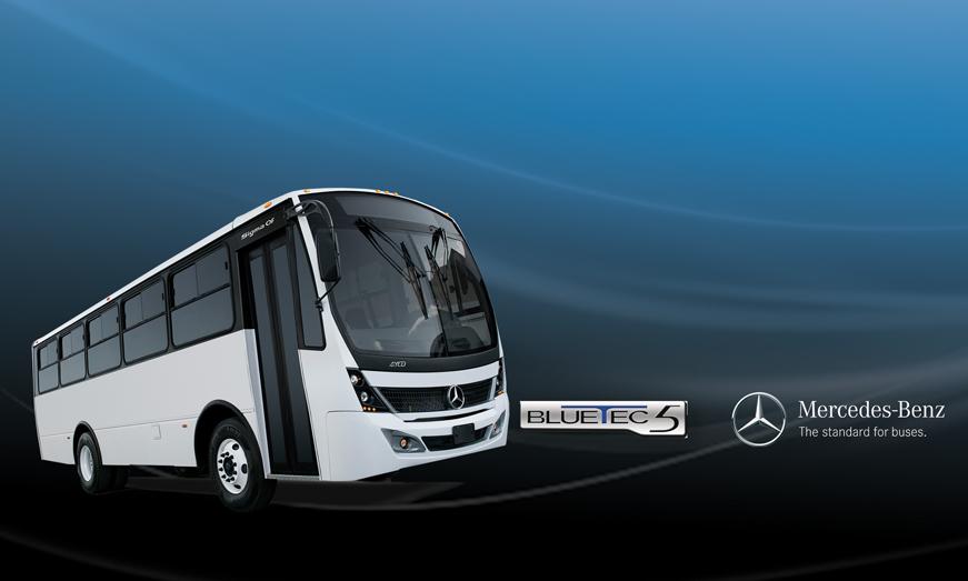 Chasis Mercedes-Benz OF 1321/44 Euro V BlueTec® 5