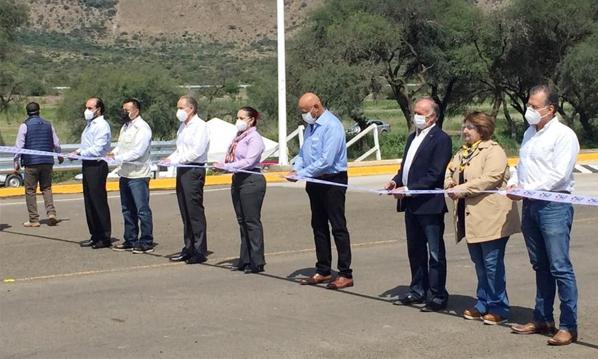Coinsan y Autoridades estatales, dan banderazo inicial a la apertura del ramal San Luis Potosí – Guanajuato