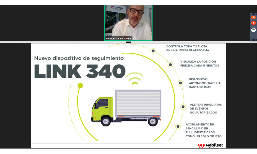 Llega LINK 340 el nuevo dispositivo de seguimiento para las flotas