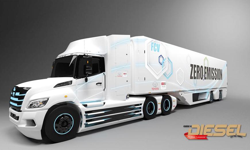 HINO TRUCKS y TOYOTA Desarrollaran conjuntamente un Camión eléctrico de celda de combustible de clase 8 para América del Norte.