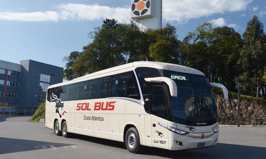 El Paradiso New G7 1200 suministrado a Sol Bus