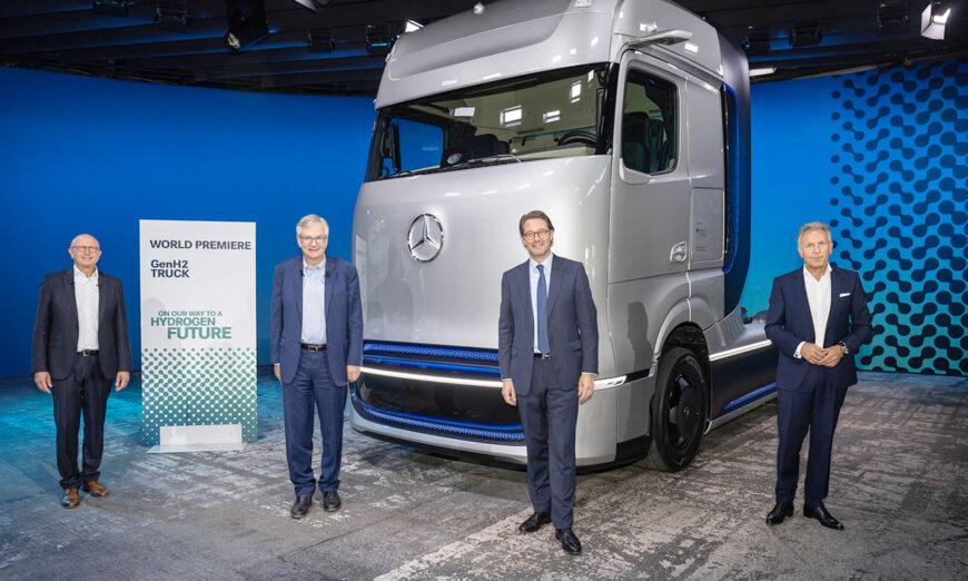 Daimler Trucks estrena mundialmente el Mercedes-Benz GenH2