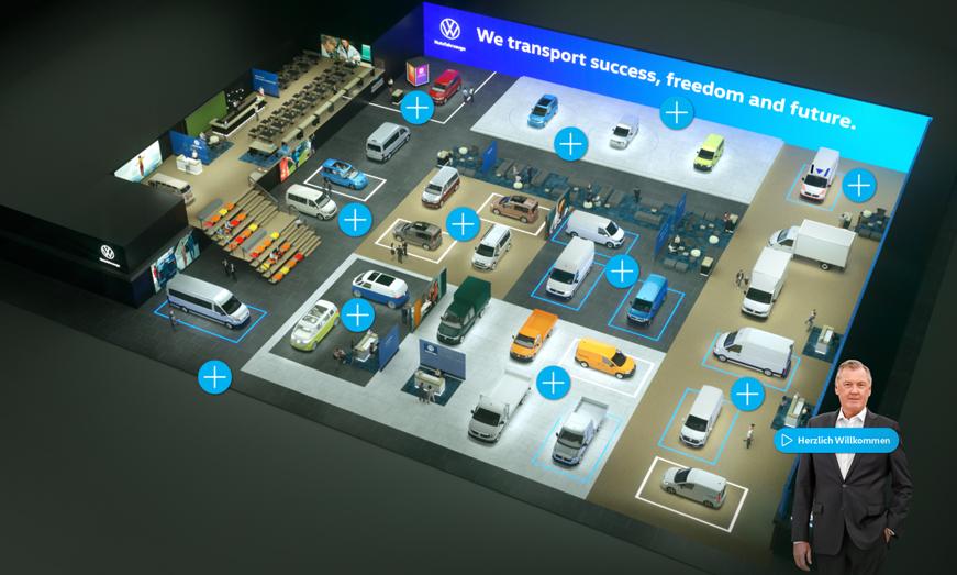 Volkswagen Vehículos Comerciales se adelanta al futuro con la primera exposición digital