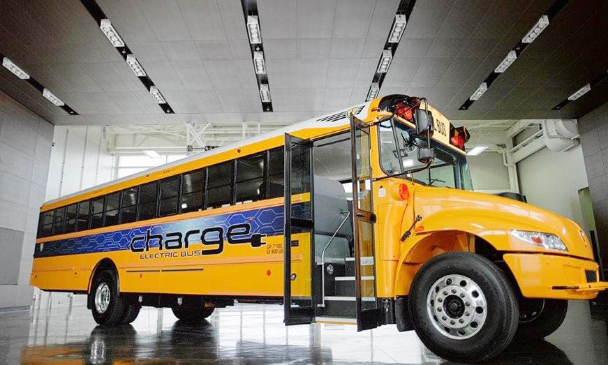 IC Bus recibe su primer pedido del autobús escolar CE eléctrico
