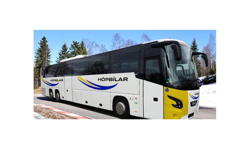 Vdl Bus & Coach hace su debut en el transporte internacional islandés