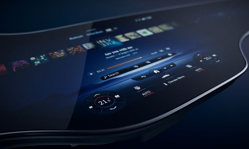 Estreno mundial de Mercedes-Benz MBUX Hyperscreen