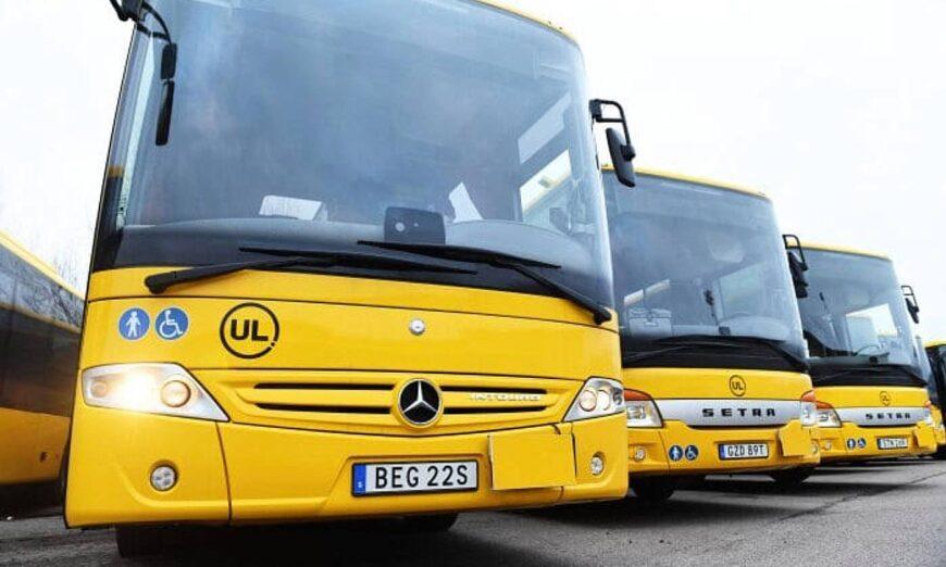 Daimler Buses entrega 112 autobuses interurbanos a Suecia