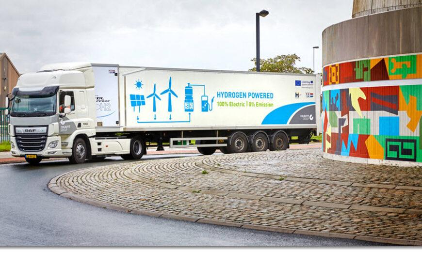 Países Bajos: testean primer camión de 44 ton. a hidrógeno de Europa