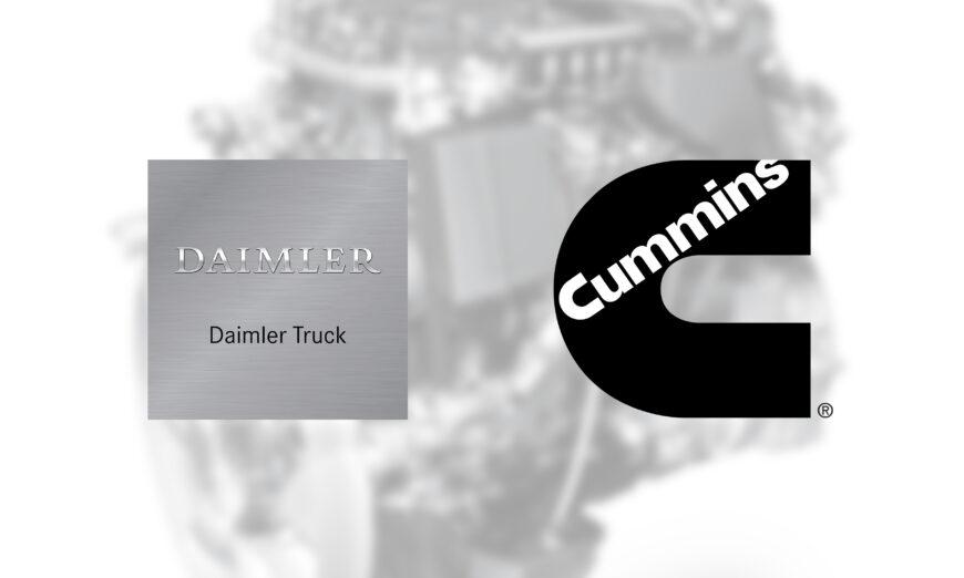 Daimler Truck AG y Cummins Inc, anunciaron la firma de un acuerdo para establecer una sociedad estratégica para los sistemas de motores de uso medio