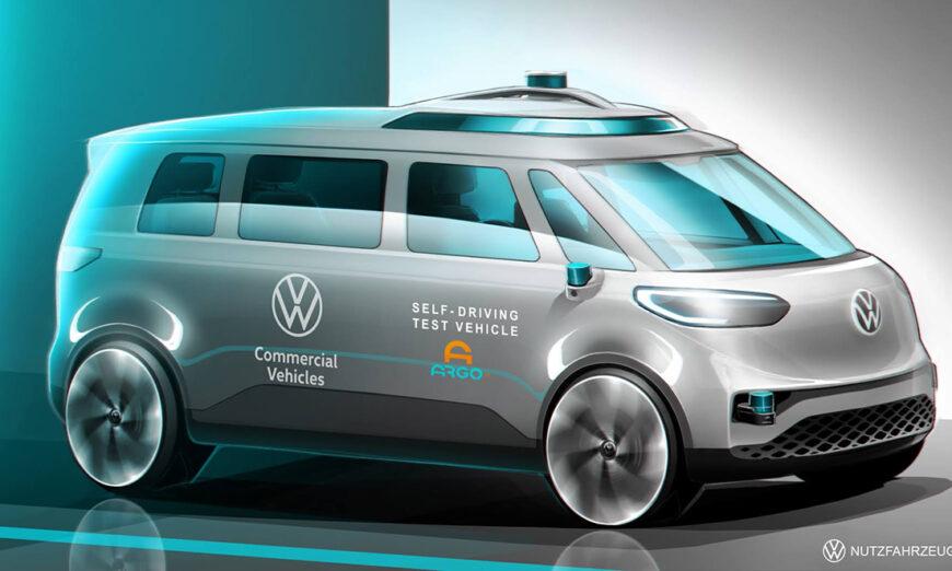 Volkswagen Vehículos Comerciales avanza con I + D de conducción autónoma para la movilidad como servicio