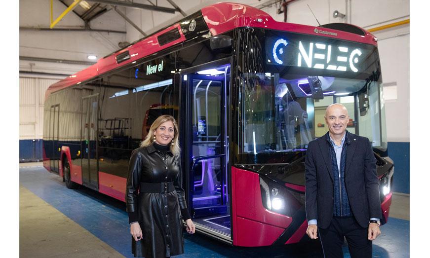 Castrosua presenta su nuevo proyecto Nelec para cubrir las demandas de la electromovilidad urbana