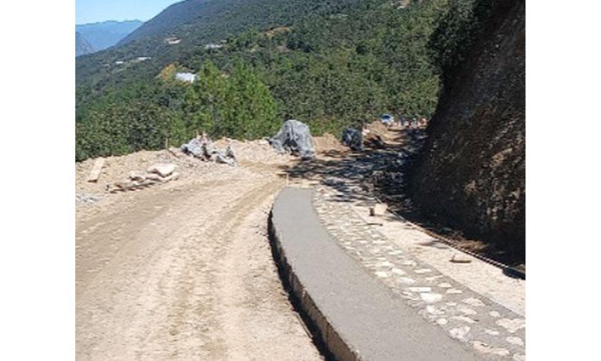 Se construirán en 2021 más de 2 mil 670 kilómetros bajo el Programa de Pavimentación de Caminos a Cabeceras Municipales