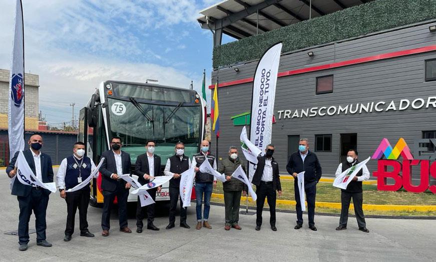 Scania entrega a Mexibús autobús GNV
