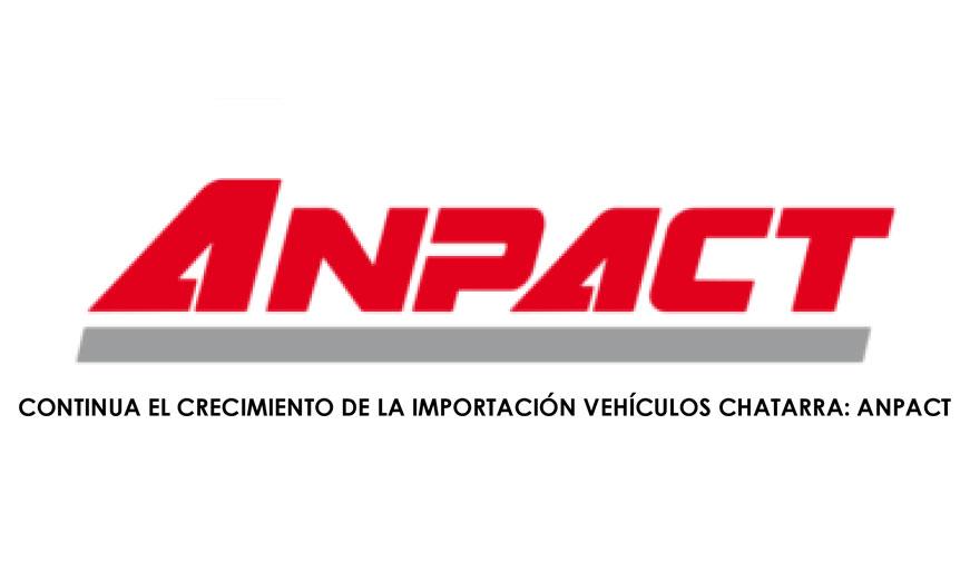Continua el crecimiento de la importación vehículos chatarra: ANPACT