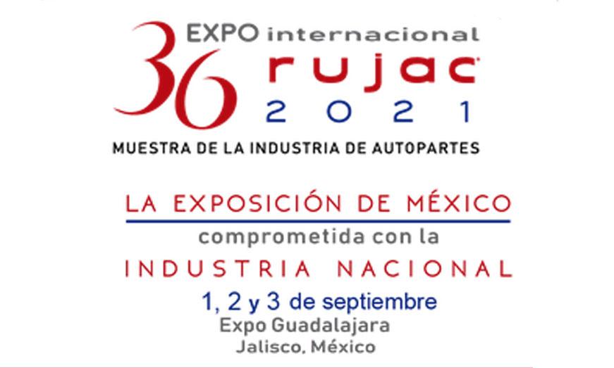 Expo Internacional Rujac 2021 será en septiembre 1,2 y 3