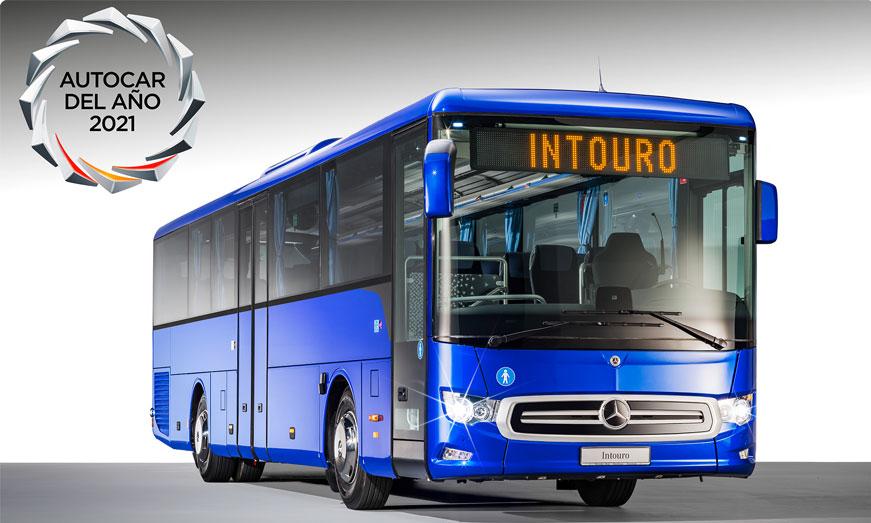 """El nuevo Mercedes-Benz Intouro recibe el reconocimiento """"Touring Coach of the Year"""""""