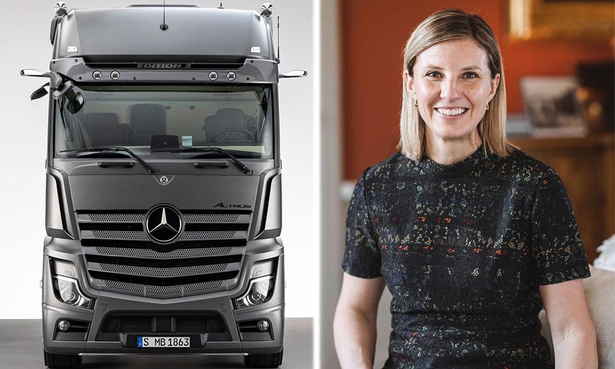 Karin Rådström asume la Dirección de Mercedes-Benz Trucks