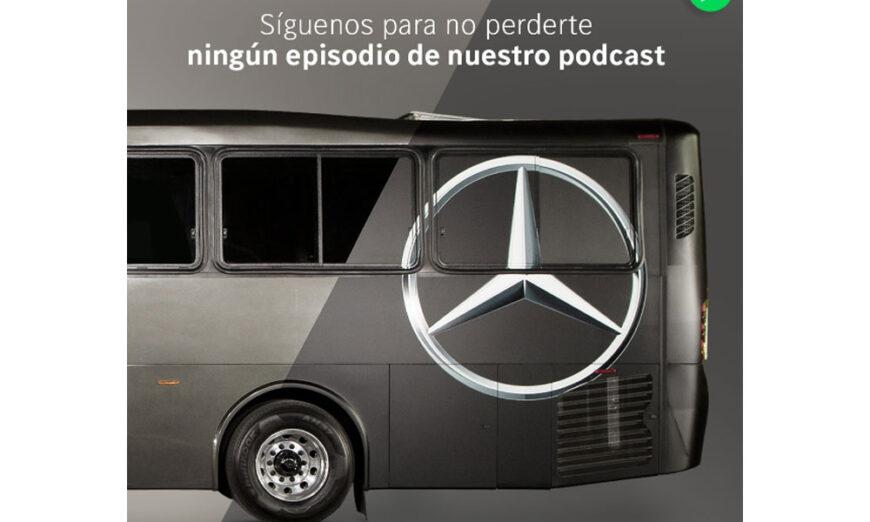 """Mercedes- Benz Autobuses da a conocer su nuevo podcast """"Expertos en Autobuses"""""""