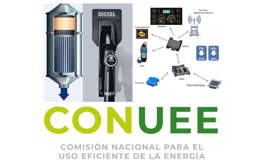 CONUEE comparte la importancia de los sistemas de postratamiento de emisiones