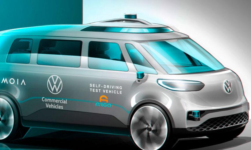 Volkswagen Vehículos Comerciales y Argo AI inician pruebas de conducción autónoma internacionales – MOIA es el primer usuario del ID. BUZZ AD