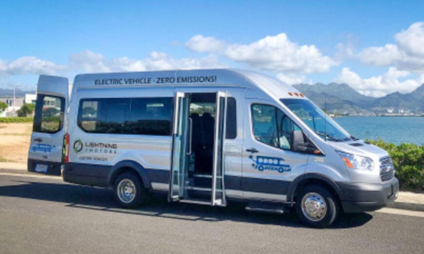 Lightning eMotors se asocia con Soderholm Bus & Mobility para vender vehículos comerciales eléctricos en Hawaii