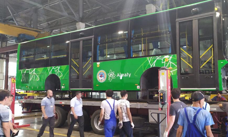 Golden Dragon envió a Kazajstán 150 unidades BRT