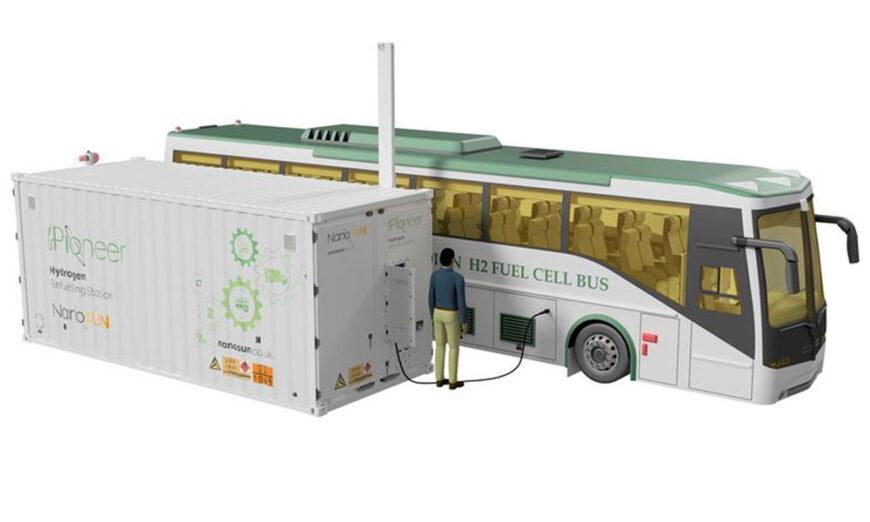 NanoSUN, lanza la Estación de Reabastecimiento de Hidrógeno Pioneer (HRS)