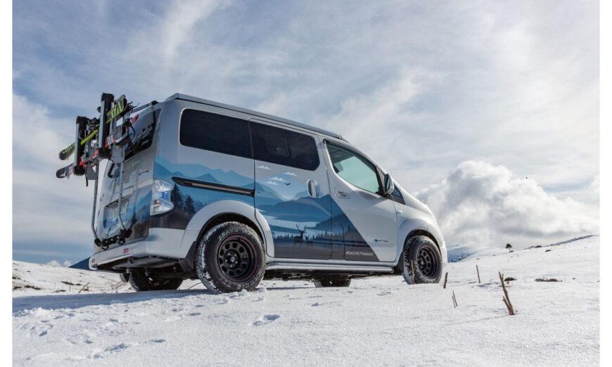 La Van Winter Camper Concept de Nissan diseñada para las aventuras invernales
